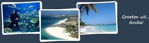 groeten uit Aruba